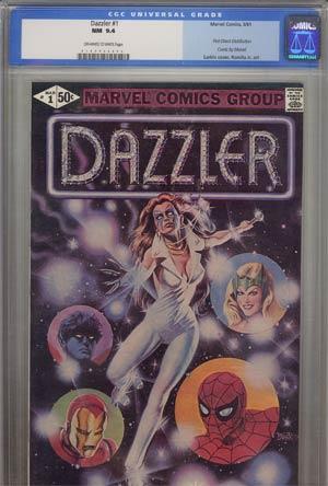 Dazzler #1 CGC 9.4