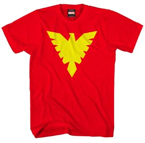 X-Men Phoenix Symbol Fenix Saga Midtown Exclusive T-Shirt Large