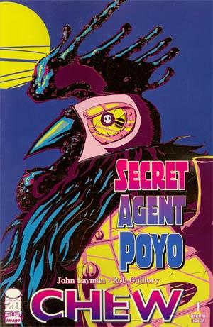Chew Secret Agent Poyo #1 Incentive SDCC Variant Cover