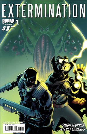 Extermination (BOOM Studios) #1 Cover K 2nd Ptg
