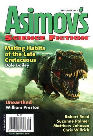 Asimovs Science Fiction Vol 36 #9 Sep 2012