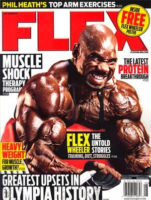 Flex Magazine Vol 29 #8 Aug 2012