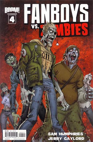Fanboys vs Zombies #4 Regular Cover B Khary Randolph