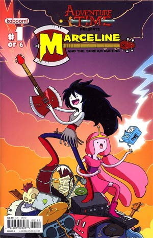 Adventure Time Marceline And The Scream Queens #1 Cover A Regular Jen Bennet Cover
