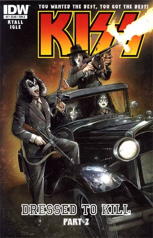 KISS Vol 2 #2 Regular Nick Runge Cover