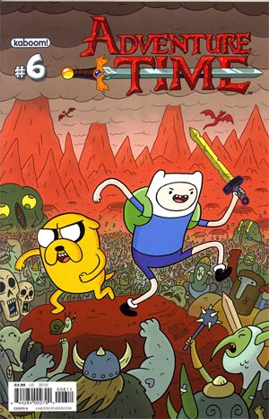 Adventure Time #6 Cover A Regular Chris Houghton Cover