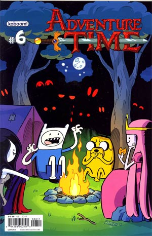Adventure Time #6 Cover B Regular James Lloyd Cover