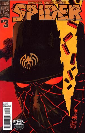 Spider #3 Regular Francesco Francavilla Cover