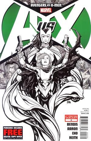 Avengers vs X-Men #0 Cover F 6th Ptg Frank Cho Variant Cover
