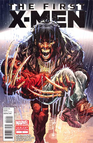 First X-Men #1 Incentive Neal Adams Variant Cover