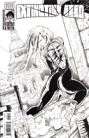 Extinction Seed #3 Incentive Sexy Variant Cover