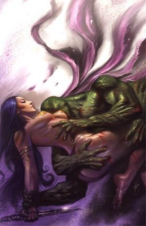 Warlord Of Mars #20 Incentive Lucio Parrillo Virgin Cover
