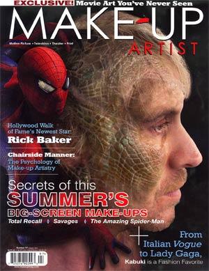 Make-Up Artist Magazine #97 Jul / Aug 2012