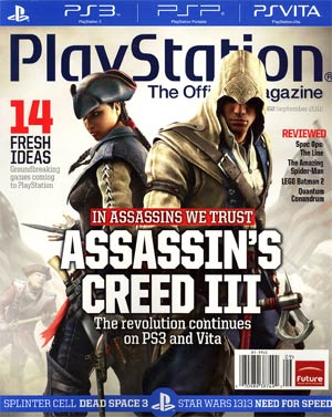 Playstation The Official Magazine #62 Sep 2012