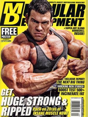 Muscular Development Magazine Vol 49 #9 Sep 2012