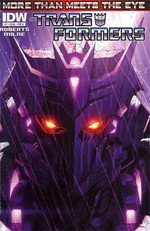 Transformers More Than Meets The Eye #7 Cover A