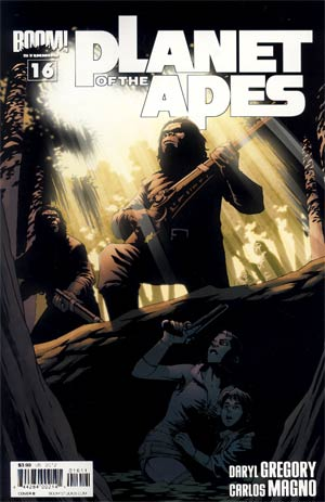 Planet Of The Apes Vol 3 #16 Regular Cover B Damian Couceiro