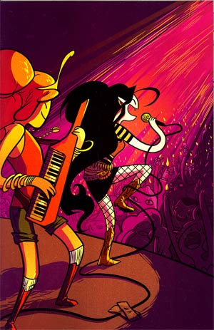 Adventure Time Marceline And The Scream Queens #2 Cover C Incentive Erica Henderson Virgin Variant Cover
