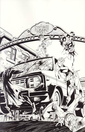 Fanboys vs Zombies #5 Incentive Khary Randolph Virgin Sketch Cover
