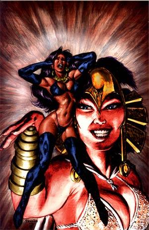 Pantha Vol 2 #3 Incentive Mark Texeira Virgin Cover