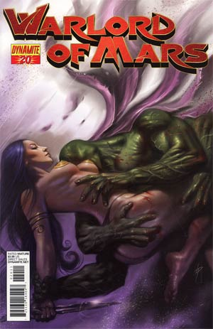 Warlord Of Mars #20 Regular Lucio Parrillo Cover