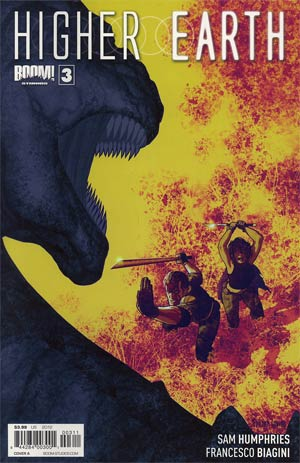 Higher Earth #3 Regular Cover A Frazer Irving