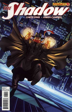Shadow Vol 5 #4 Regular Sean Chen Cover