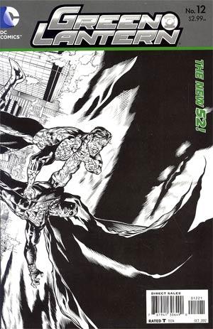 Green Lantern Vol 5 #12 Incentive Doug Mahnke Sketch Cover
