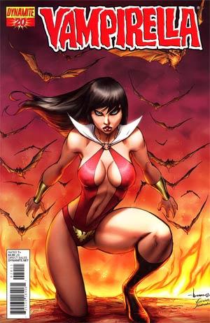 Vampirella Vol 4 #20 Regular Ale Garza Cover