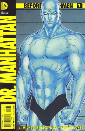 Before Watchmen Dr Manhattan #1 Incentive Jim Lee Variant Cover