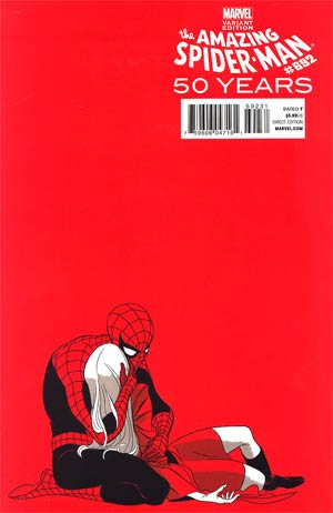 Amazing Spider-Man Vol 2 #692 Cover C Variant Marcos Martin 1970s Decade (Red) Cover