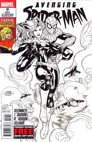 Avenging Spider-Man #9 Cover B 2nd Ptg