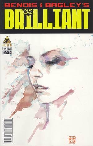 Brilliant #4 Incentive David Mack Variant Cover