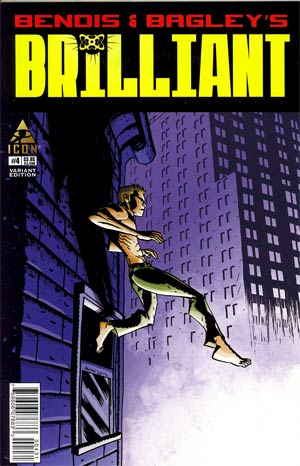 Brilliant #4 Incentive Mike Avon Oeming Variant Cover