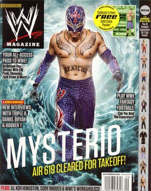 WWE Magazine #80 Sep 2012