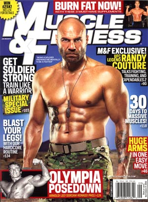 Muscle & Fitness Magazine Vol 73 #9 Sep 2012