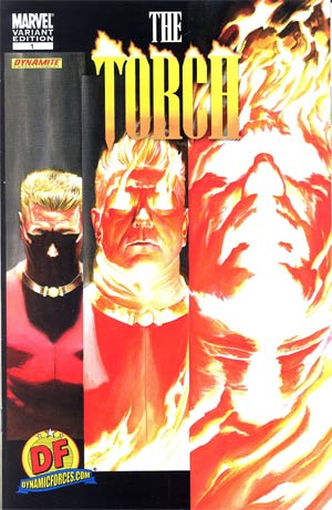 Torch #1 DF Exclusive Alex Ross Variant Cover
