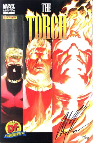 Torch #1 DF Exclusive Alex Ross Variant Cover Signed By Alex Ross