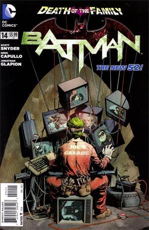Batman Vol 2 #14 Cover A Regular Greg Capullo Cover (Death Of The Family Tie-In)