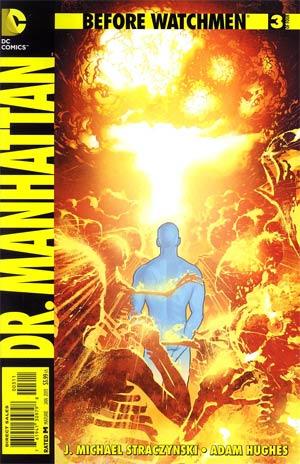 Before Watchmen Dr Manhattan #3 Regular Adam Hughes Cover