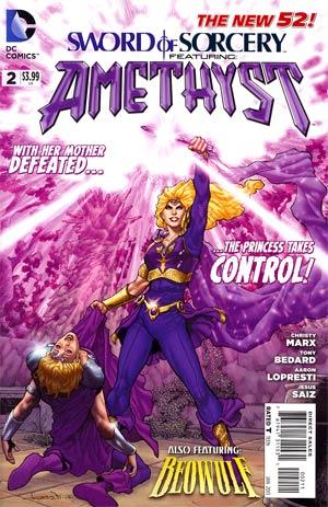 Sword Of Sorcery Vol 2 #2 Cover A Regular Aaron Lopresti Cover