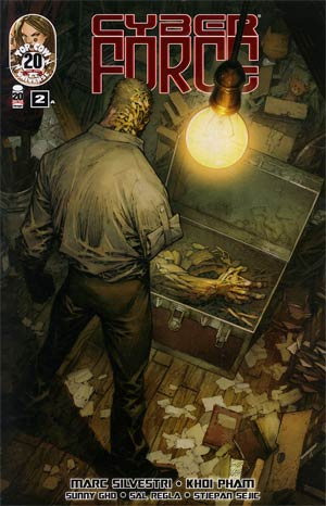 Cyberforce Vol 4 #2 Cover A Regular Marc Silvestri Cover