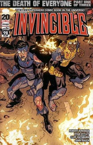Invincible #98 Cover A Regular Ryan Ottley Cover