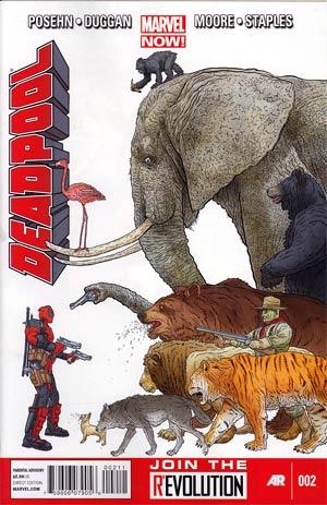 Deadpool Vol 4 #2 1st Ptg Regular Geof Darrow Cover