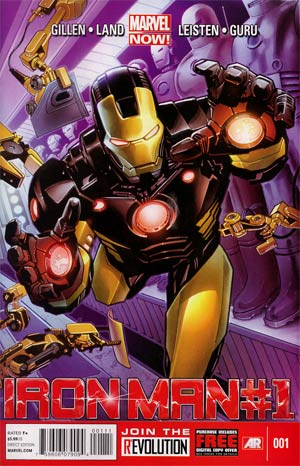 Iron Man Vol 5 #1 1st Ptg Regular Greg Land Cover
