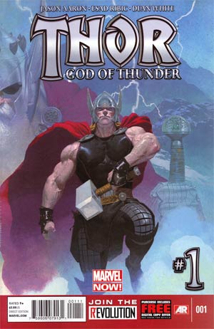 Thor God Of Thunder #1 1st Ptg Regular Esad Ribic Cover