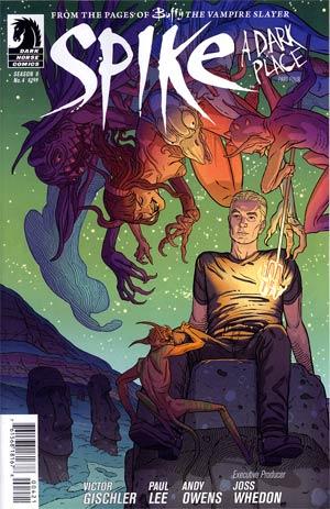 Buffy The Vampire Slayer Spike #4 Variant Steve Morris Cover