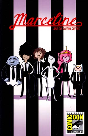 Adventure Time Marceline And The Scream Queens #1 Cover G SDCC Exclusive Meredith Gran Variant Cover