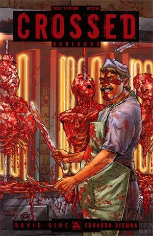 Crossed Badlands #17 Torture Cvr