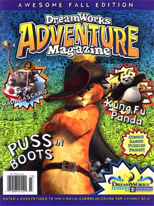 Dreamworks Adventure Magazine #2